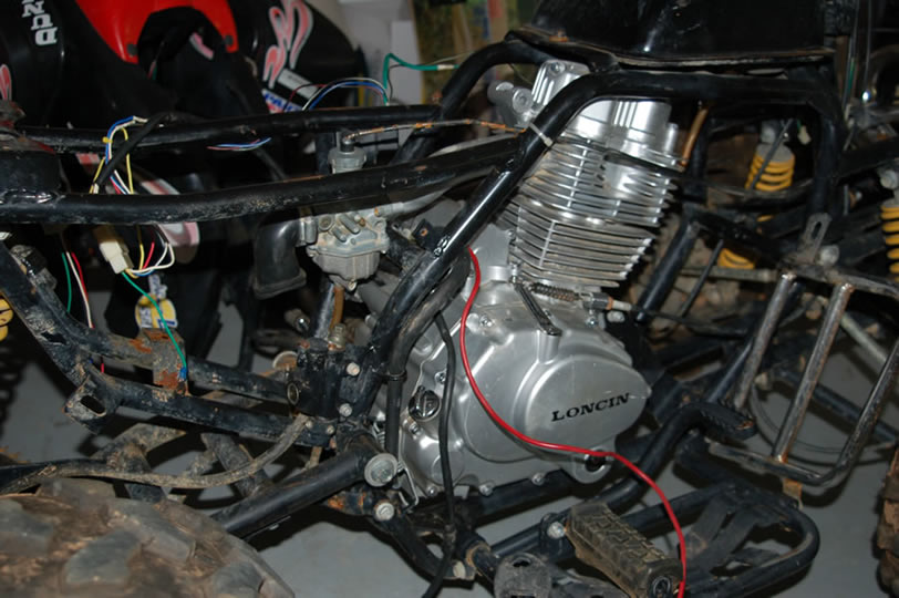 Where To Find Exhaust System For 200cc Loncin