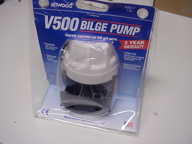 bilge pump installation instructions