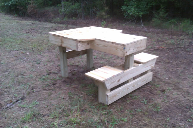Am looking for wood project: Share Workbench plans using 4x4